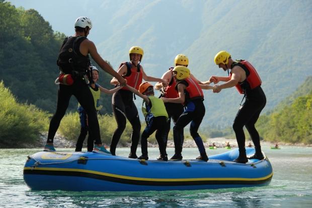GUMB družinski rafting